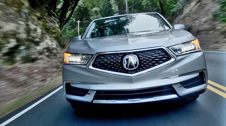 2018 Acura MDX front view