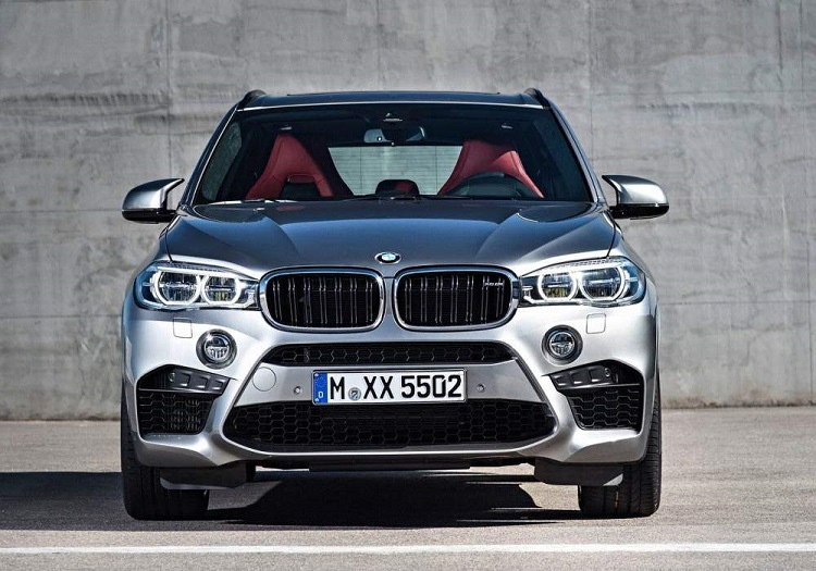 2018 BMW X5 front view