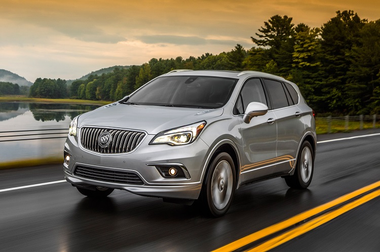 2018 Buick Envision front view