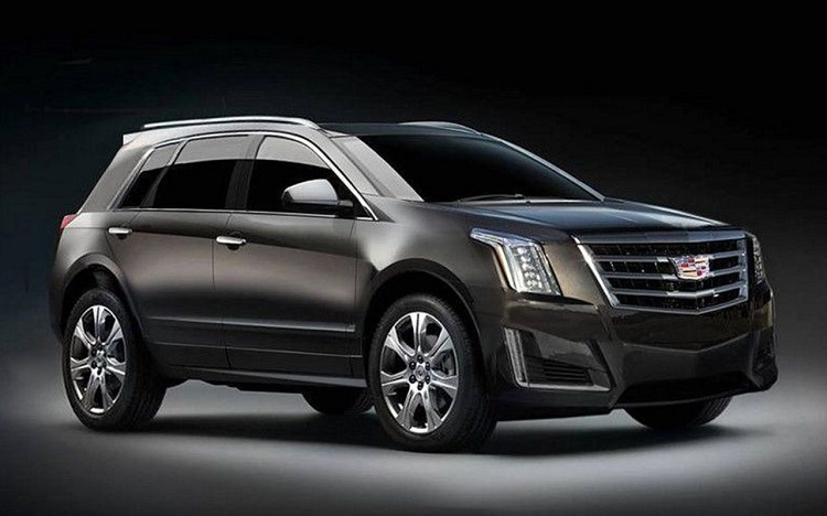 2018 Cadillac XT3 front view