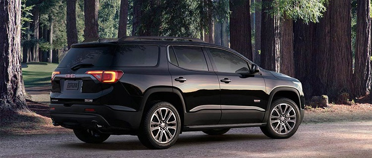 2018 GMC Acadia rear view