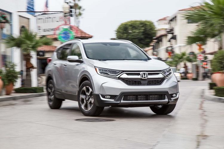 2018 Honda CR-V front view