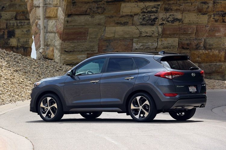 2018 Hyundai Tucson rear view