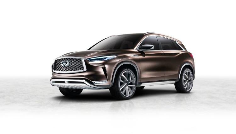 2018 Infiniti QX50 front view