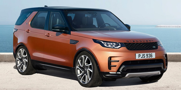 2018 Land Rover Discovery front view