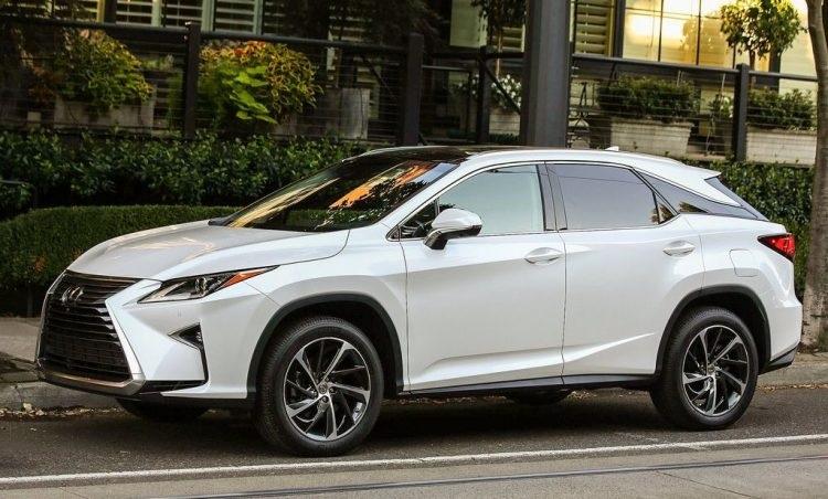 2018 Lexus RX front view
