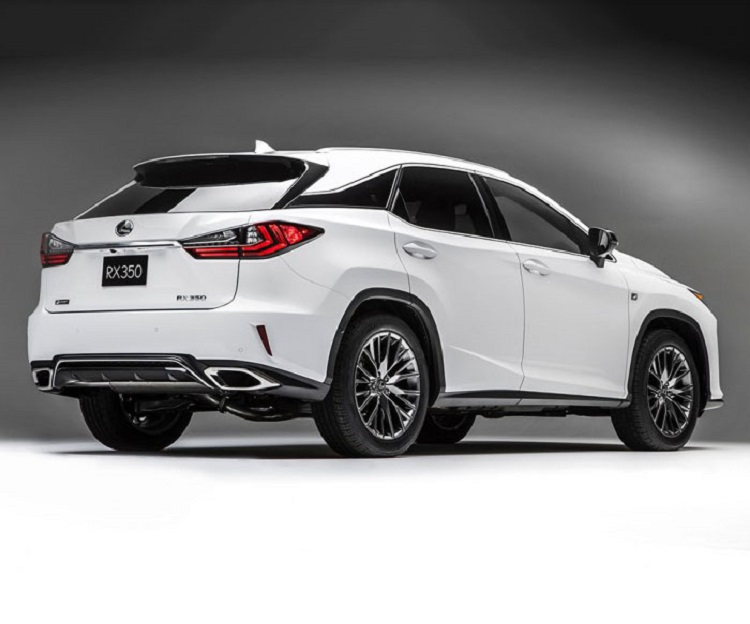 2018 Lexus RX rear view