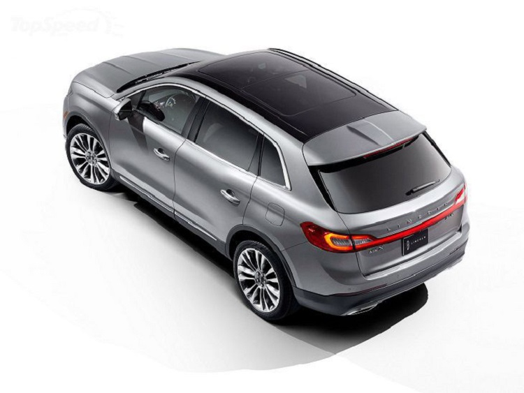 2018 Lincoln MKX rear view
