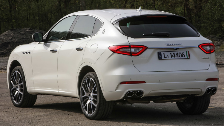 2018 Maserati Levante rear view