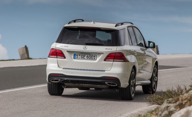 2018 Mercedes GLE rear view