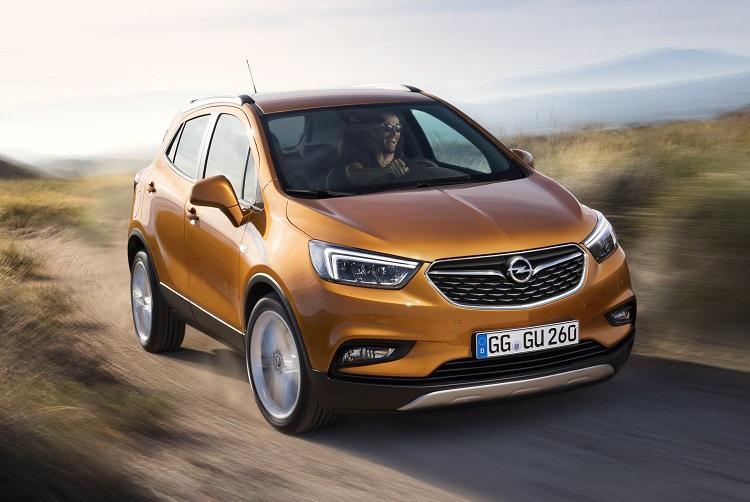 2018 Opel Mokka front view