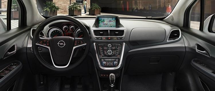2018 Opel Mokka interior
