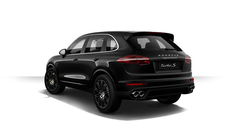 2018 Porsche Cayenne rear view