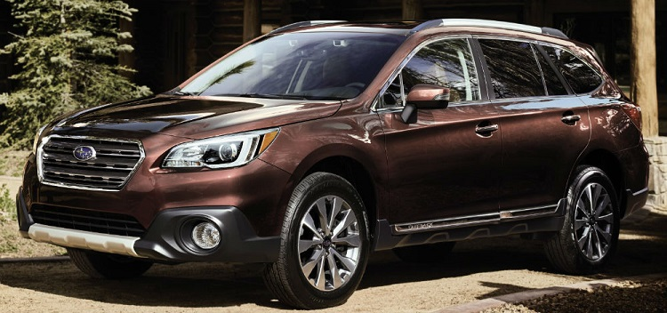 2018 Subaru Outback front view