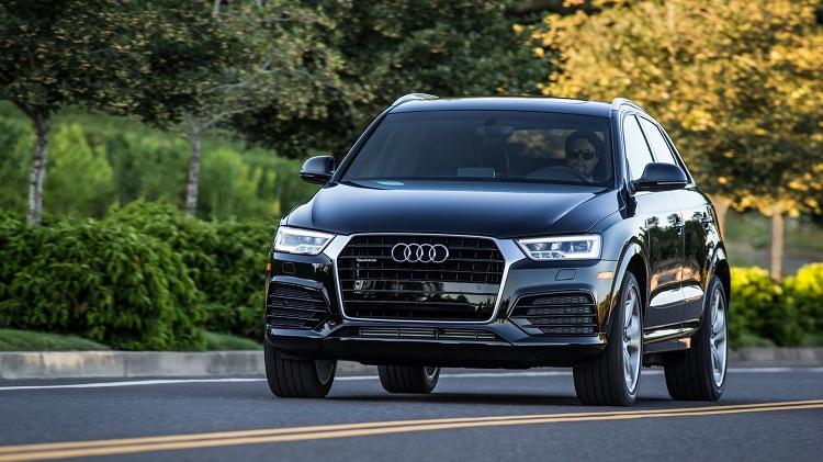 2018 Audi Q3 front view