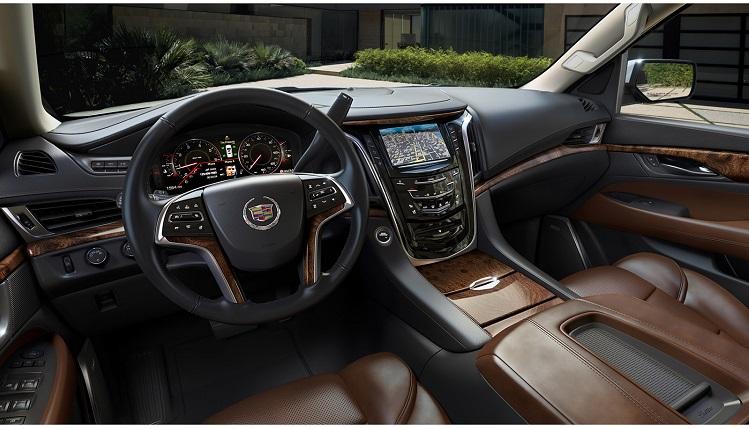 2018 Cadillac Escalade interior