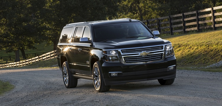 2018 Chevrolet Suburban front view