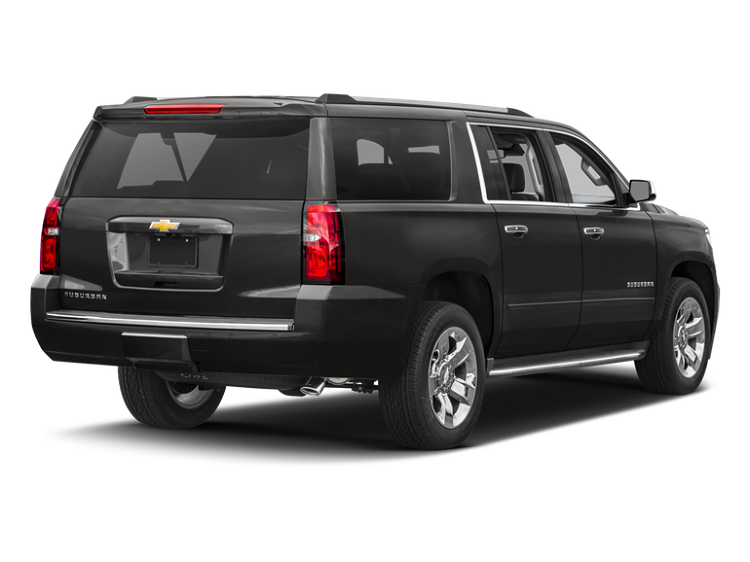 2018 Chevrolet Suburban rear view