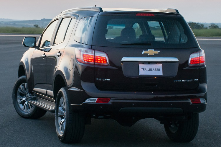 2018 Chevrolet TrailBlazer rear view