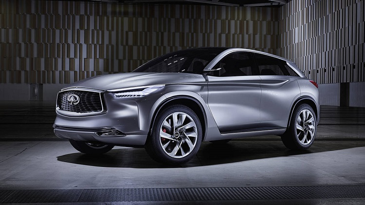 2018 Infiniti QX70 front view