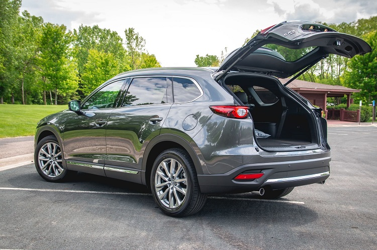 2018 Mazda CX-9 rear view (2)