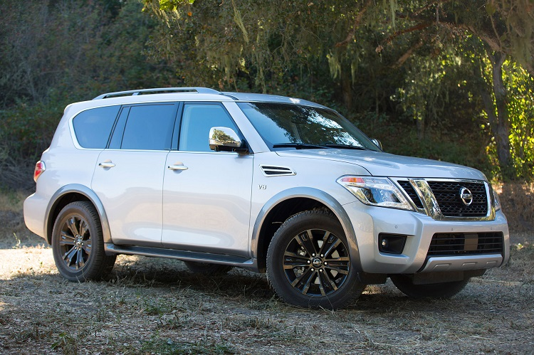 2018 Nissan Armada front view