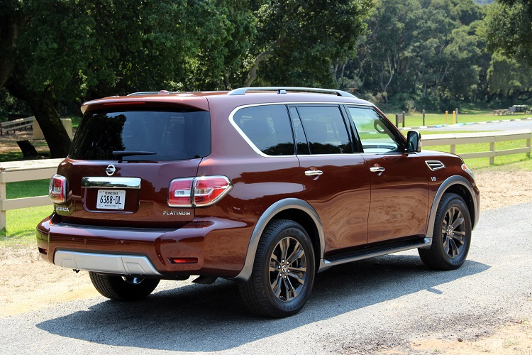 2018 nissan armada price. contemporary price 2018 nissan armada rear view with nissan armada price