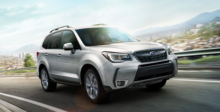 2018 Subaru Forester front view