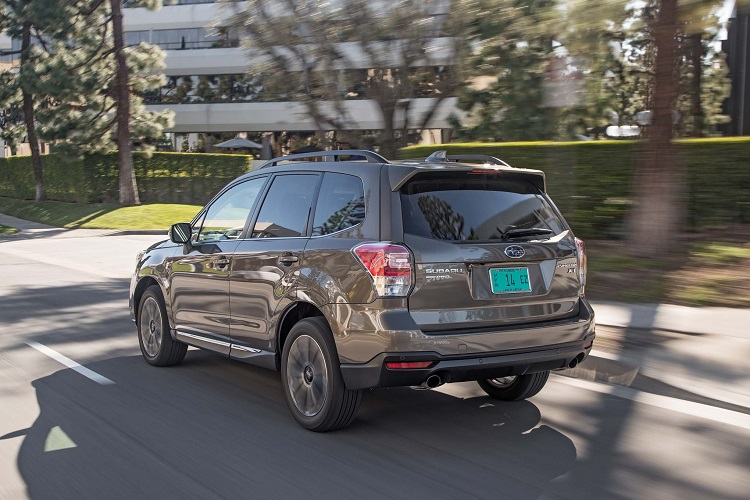 2018 Subaru Forester rear view