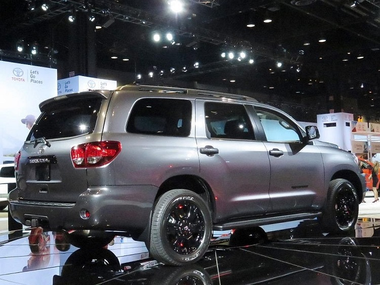 2018 Toyota Sequoia rear view