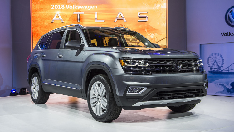 2018 VW Atlas front view