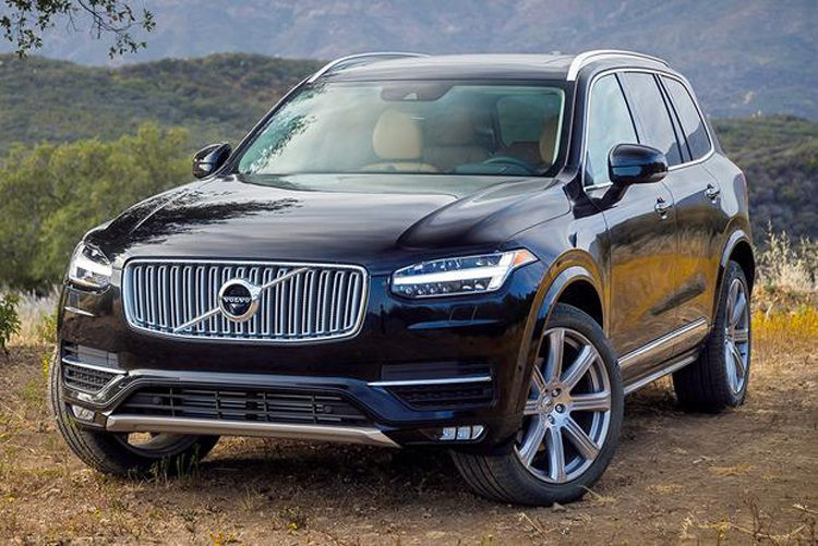 2018 Volvo XC90 front view