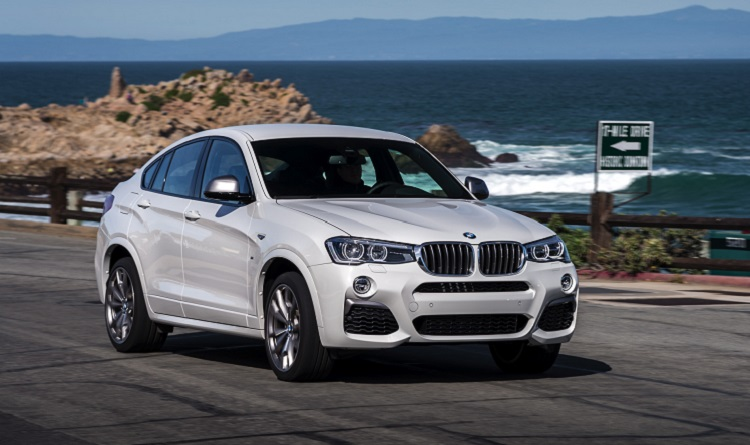 2018 BMW X4 front view