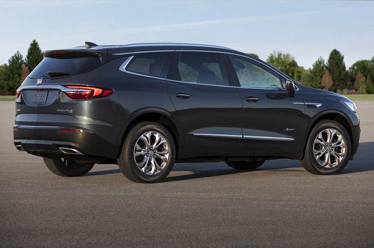 2018 Buick Enclave rear view
