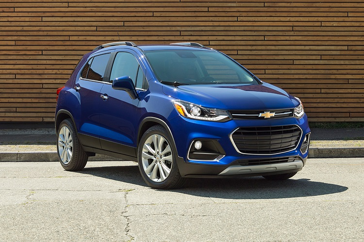2018 Chevrolet Trax front view