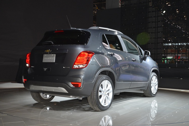 2018 Chevrolet Trax rear view