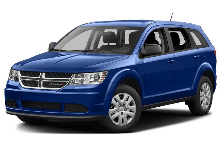 2018 Dodge Journey front view