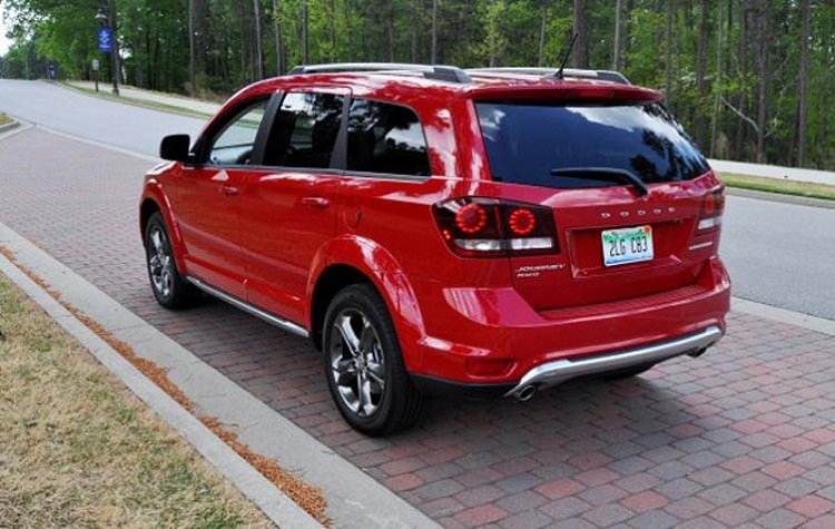 2018 Dodge Journey rear view