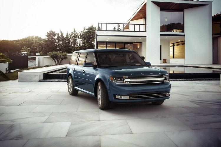 2018 Ford Flex front view