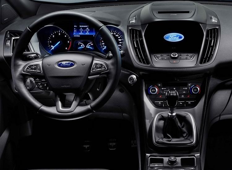2018 Ford Kuga interior