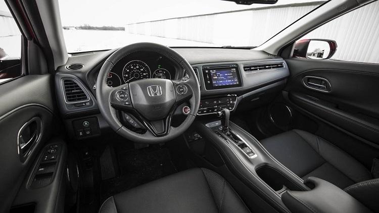 2018 honda hr v ex ex l lx turbo redesign features for Honda hr v interieur