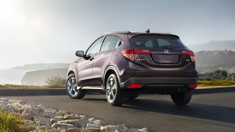 2018 Honda HR-V rear view