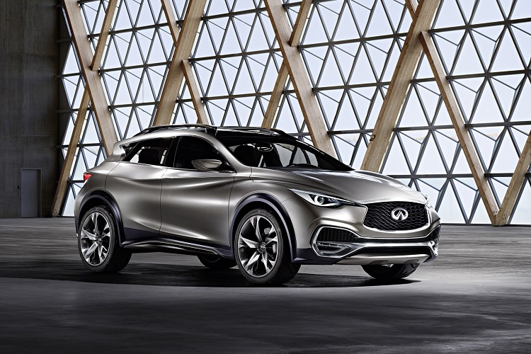 2018 Infiniti QX30 front view