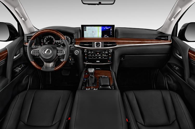 2018 Lexus LX interior