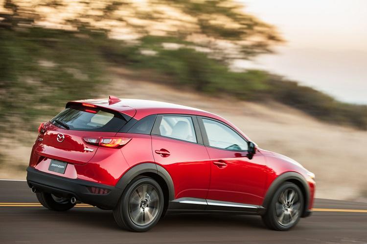 2018 Mazda CX-3 rear view