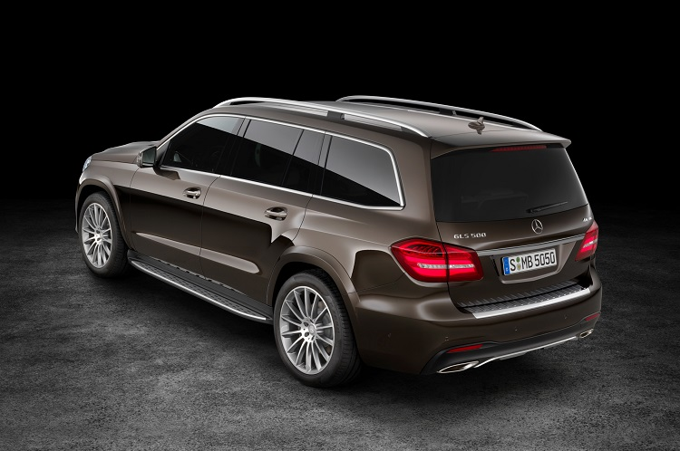 2018 Mercedes GLS rear view