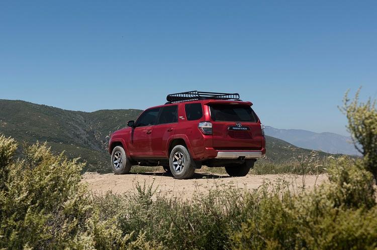 2018 Toyota 4Runner rear view