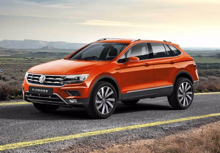2018 VW Polo SUV front view