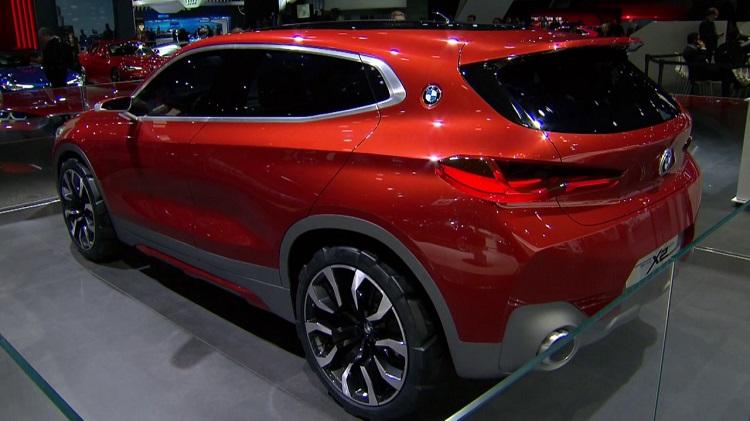 2018 BMW X2 rear vuew