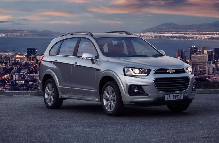 2018 Chevrolet Captiva front view